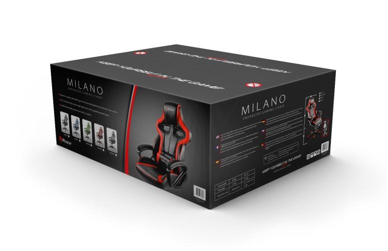 Milano červená