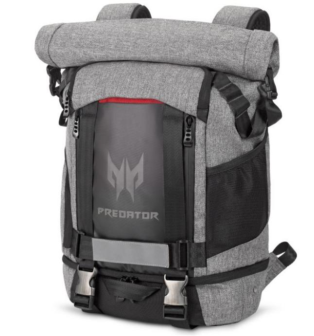 ACER Predator batoh šedo-čierny