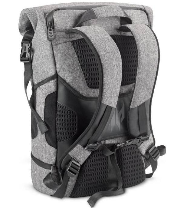 Predator batoh šedo-čierny