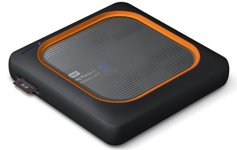 Externý disk My Passport Wireless SSD 2 TB