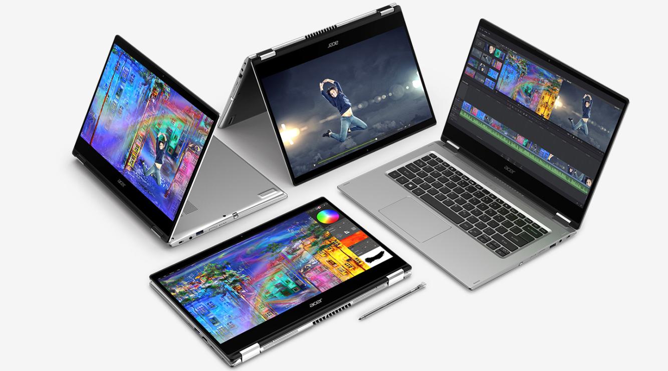 Konvertibilný notebook Acer Spin 3
