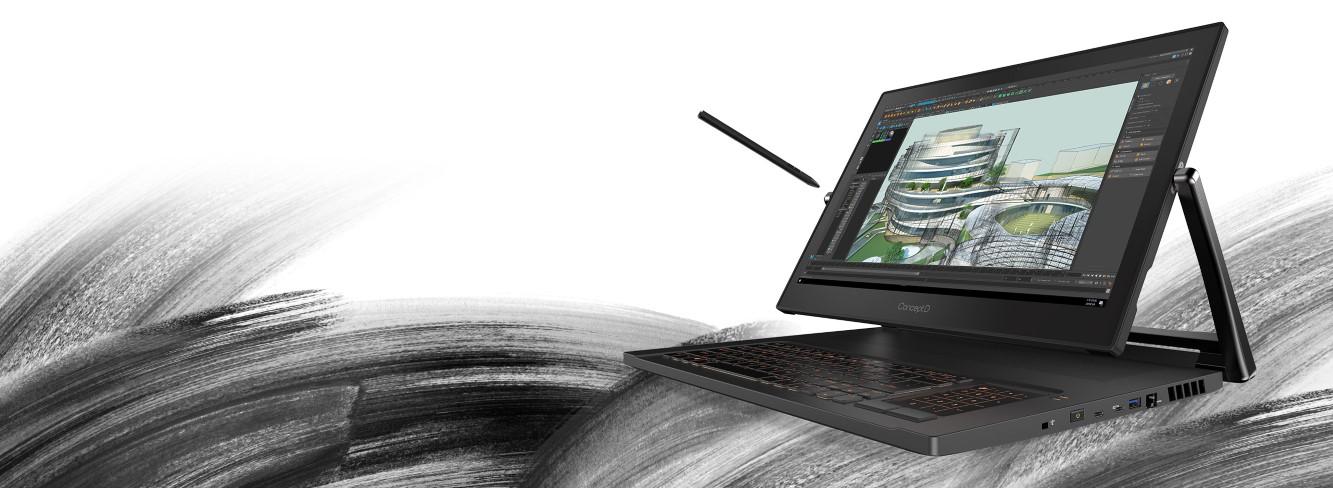 Profesionálny konvertibilný notebook Acer ConceptD 9