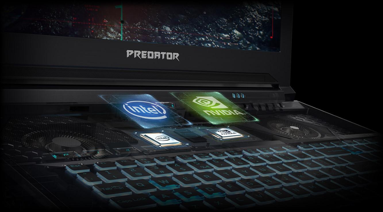 Herný notebook Acer Predator Helios 700