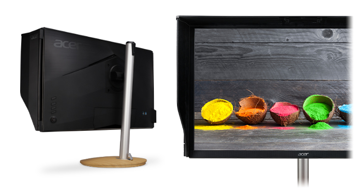 Profesionálny monitor Acer ConceptD CP7 tienenie