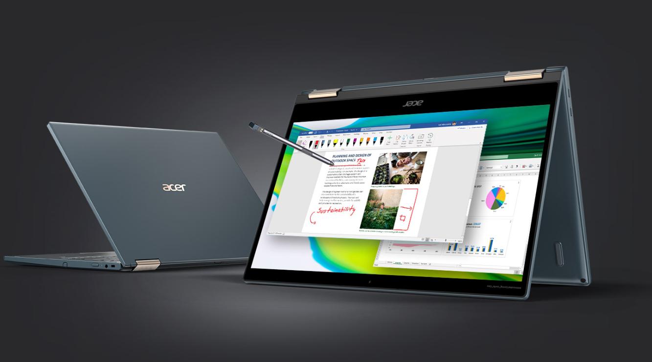 Konvertibilný Notebook Acer Spin 7