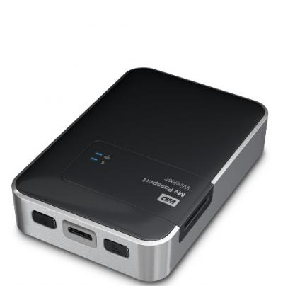 "Western Digital Externý disk 2.5"" My Passport Wireless 1TB USB3.0"