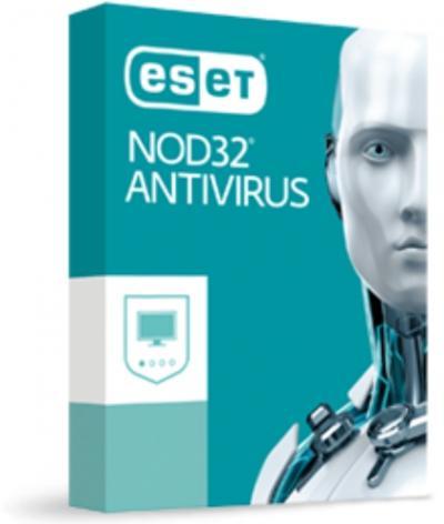 ESET NOD32 Antivirus 1PC/2rok