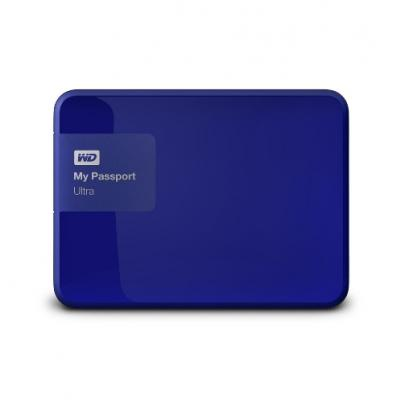 "Western Digital Externý disk 2.5"" My Passport Ultra 500GB USB modrý"