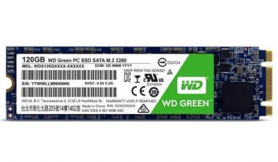 Western Digital SSD M.2 120GB Green series 2280 Sata