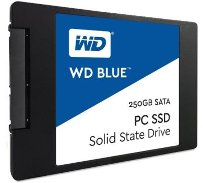 Western Digital SSD 250GB Blue series Sata3