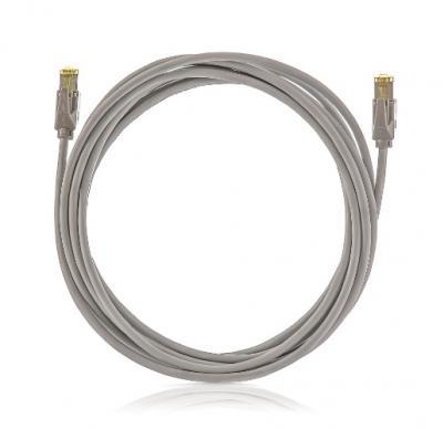 SOLARIX Patch kábel CAT5E SFTP PVC 5m sivý