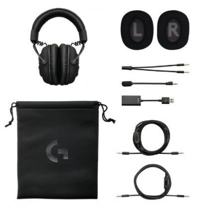LOGITECH G PRO X Headset čierny