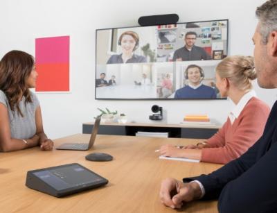 Logitech riešenia pre obrazovú kooperáciu
