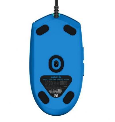 LOGITECH G203 Lightsync herná myš modrá