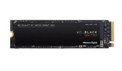 Western Digital SSD M.2 PCIe 500GB Black SN750 NVMe
